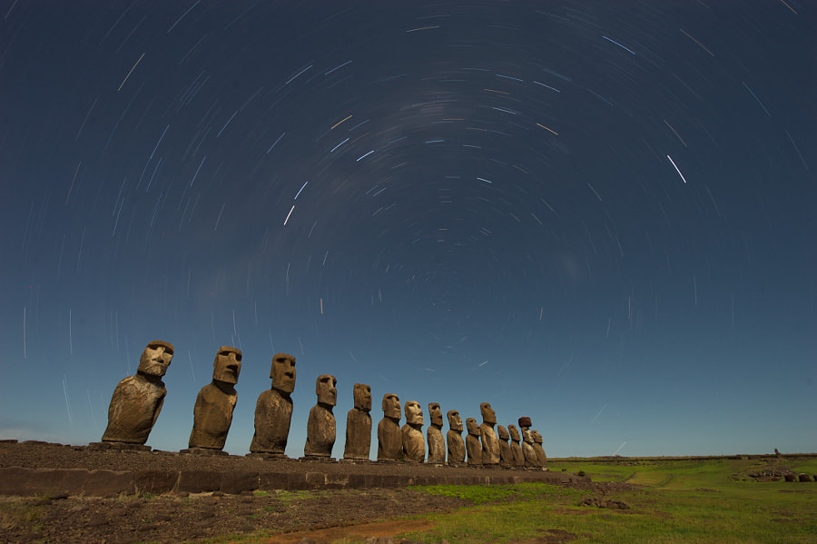 Easter Island - Star Trace