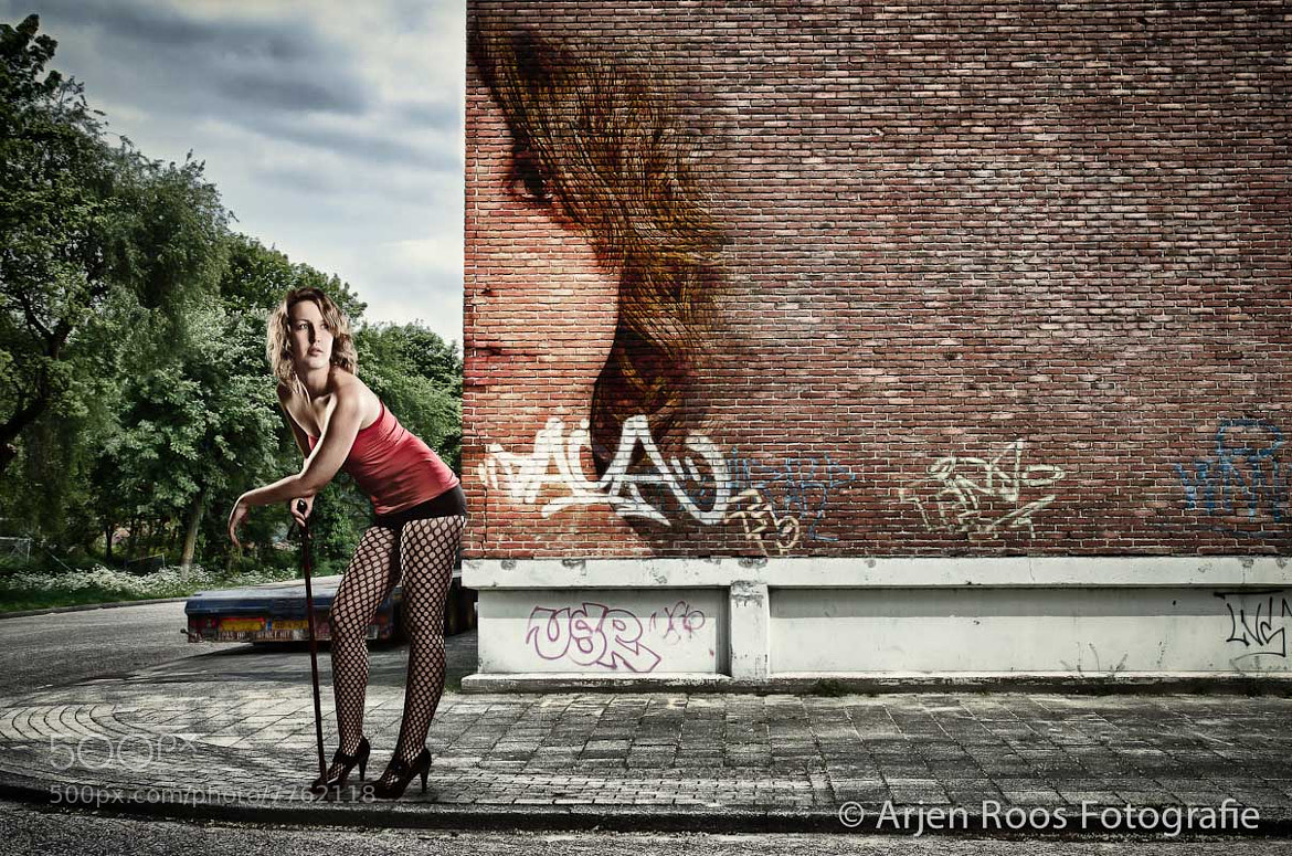 Photograph Corner graffiti by Arjen Roos on 500px