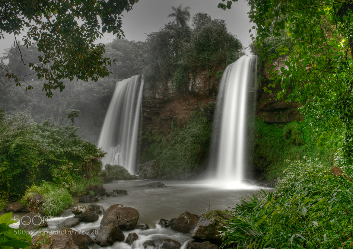 Photograph Iguazu - The Two Sisters by Geoff Pegler on 500px