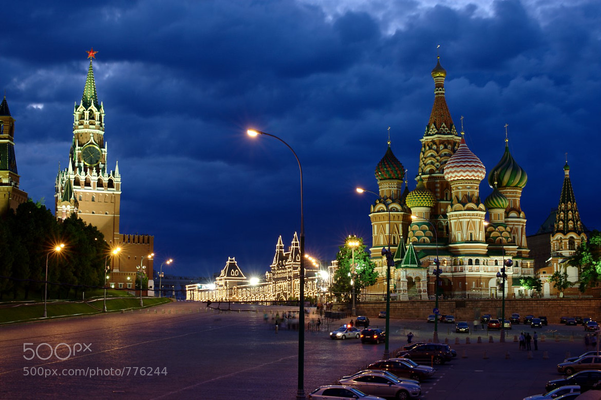 Photograph Cloudy evening in Moscow by Seva Gluschenko on 500px