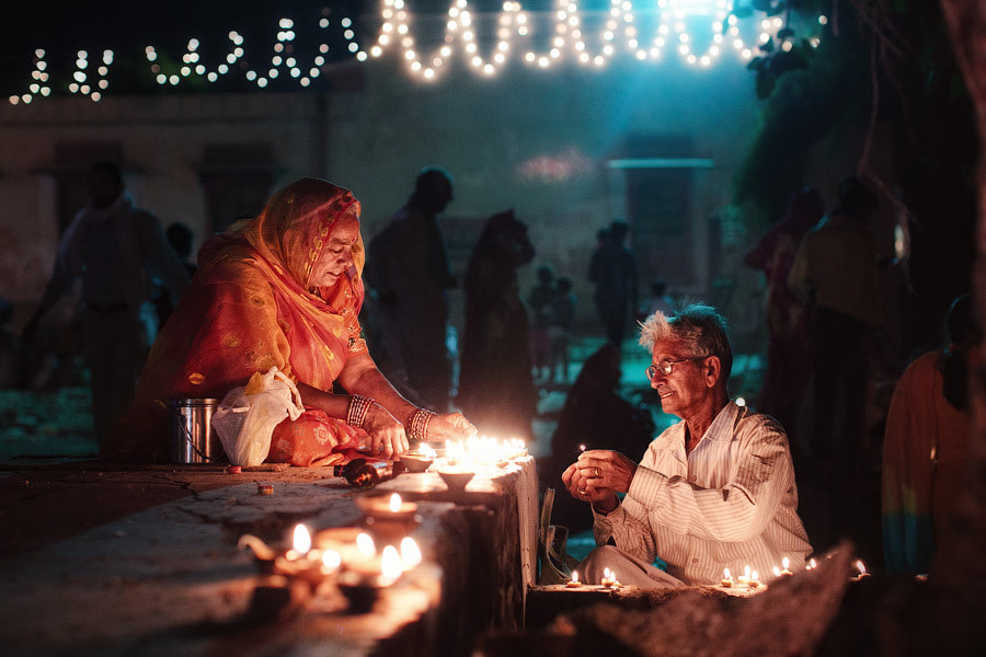 Photograph Evening Puja by Mikhail Panfilov on 500px