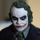 Постер, плакат: The Dark Knight Joker Hot Toys 16 Scale Figure