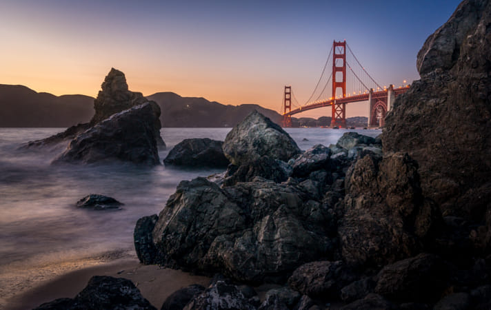 Golden Gate from Marshall Beach by Janet Weldon on 500px