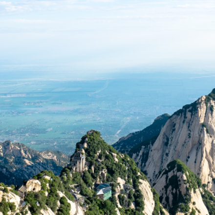 North peak of Mt Huashan, China