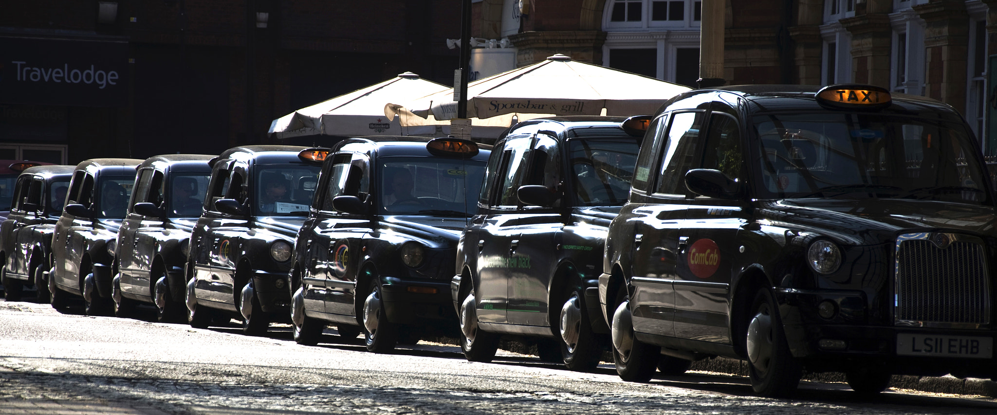 Photograph Taxi queue by Marco Dall'Omo on 500px