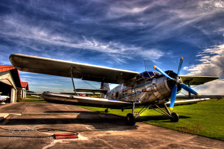 Photograph Antonov 2 Doubledecker by Monica Winkler on 500px