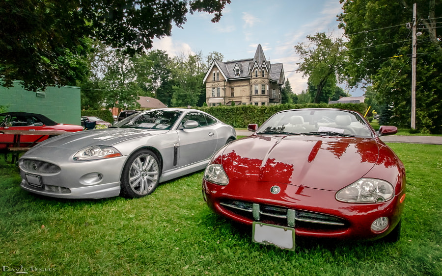 2014 Brits In The Park - Jaguar XKs