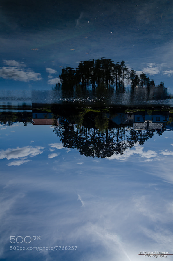 Photograph Flipped... by Vegard Hamar on 500px