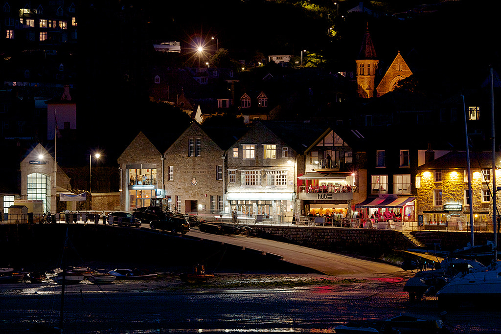 Photograph St Ives at Night #1 by Andrew Russell on 500px