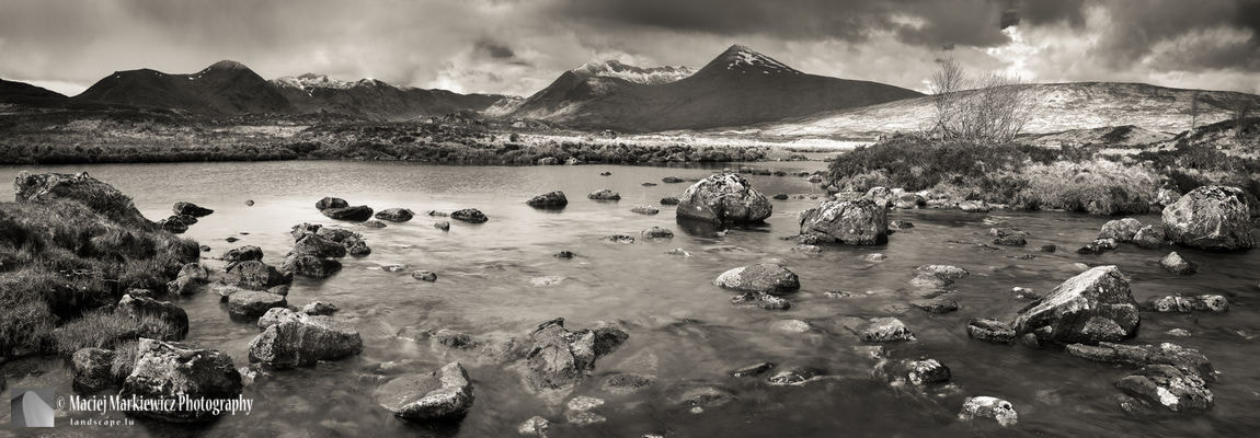 Photograph Black Mount from Rannoch Moor by Maciej Markiewicz on 500px
