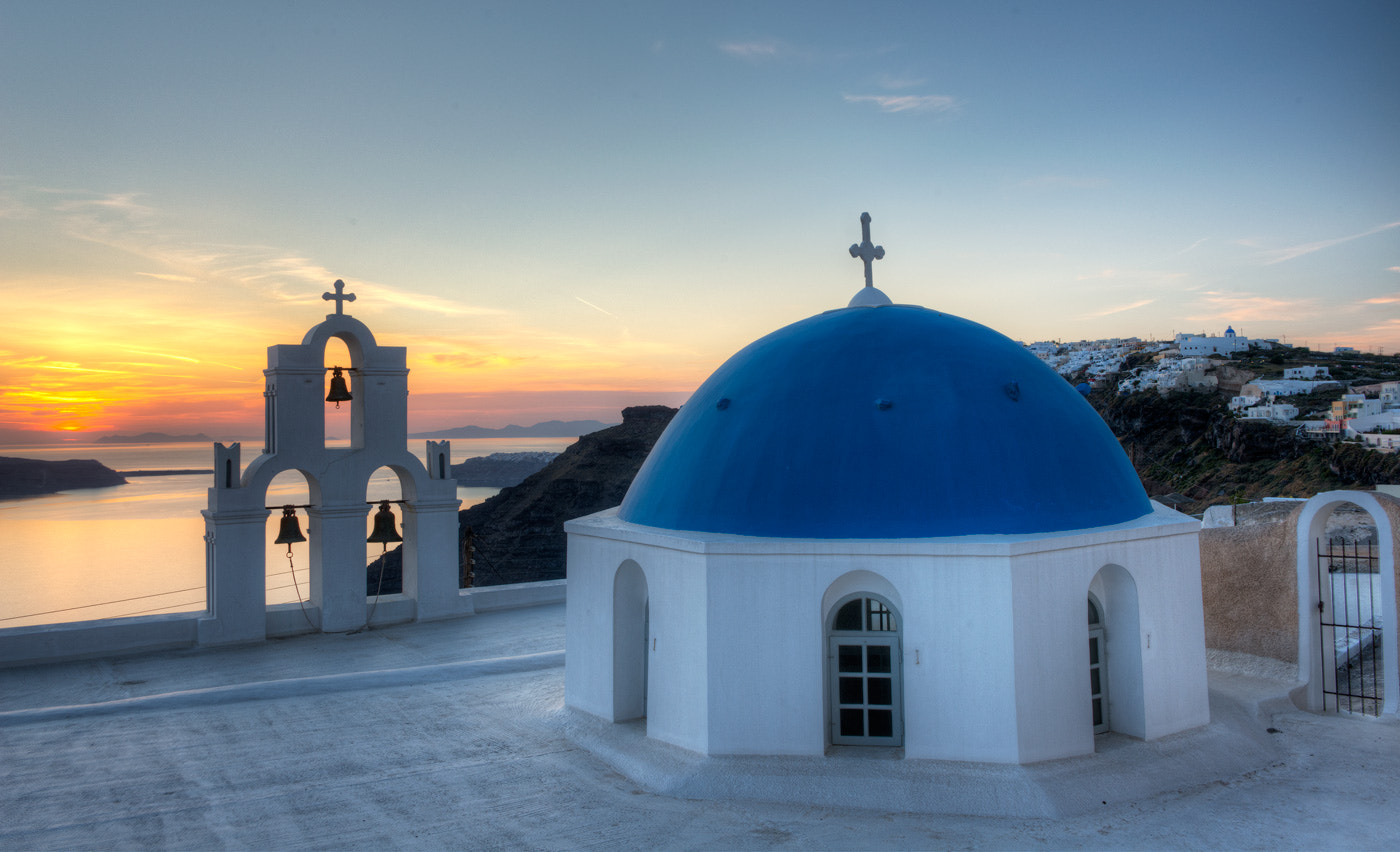 Photograph Sunset in Fira by Andre Ermolaev on 500px