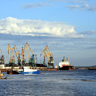 ������, ������: Sea port Kandalaksha ������� ���� ����������