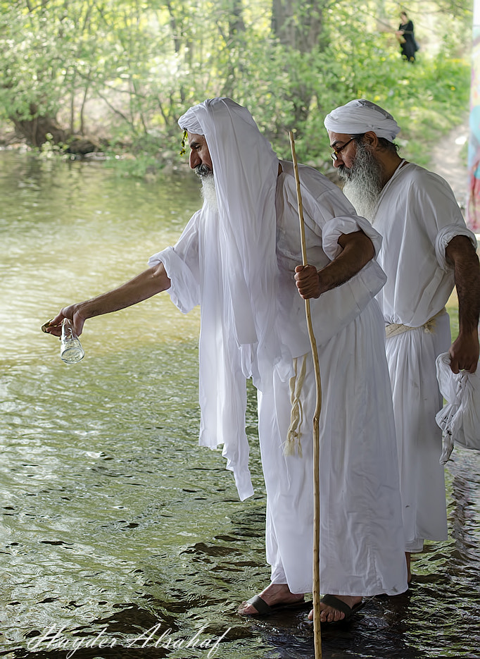 Photograph Mandaeans celebrating the day of creation by Hayder Alsahaf on 500px