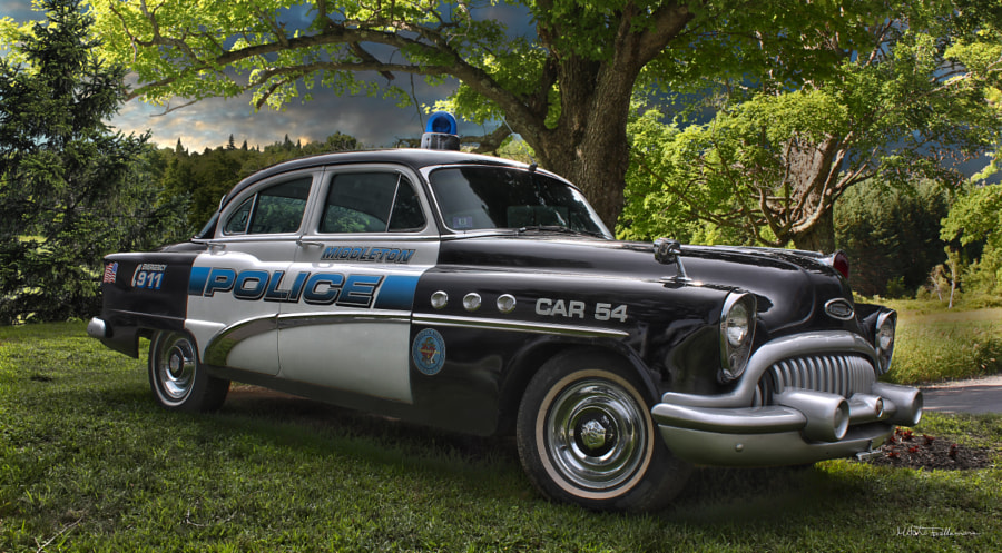 Photograph old police car by Michel Bellemare on 500px