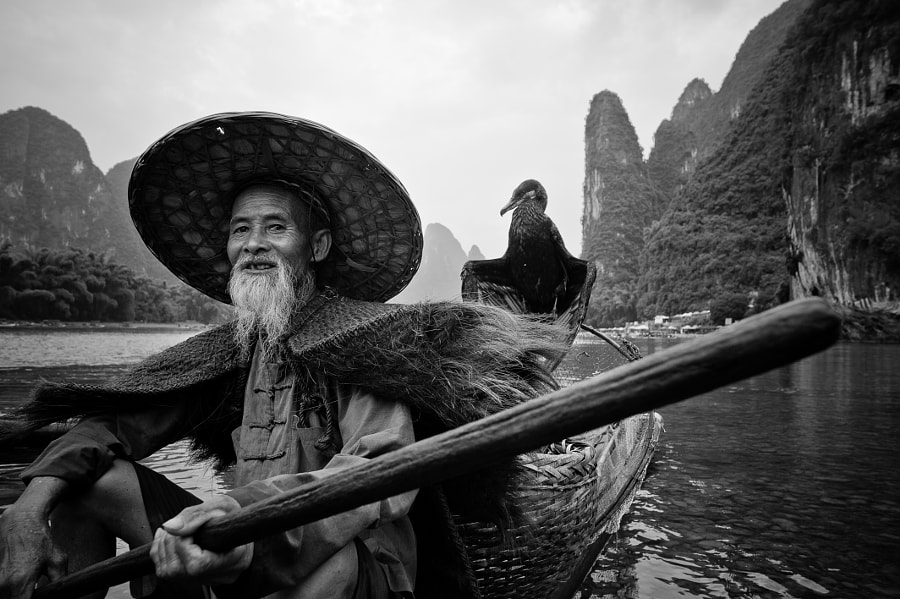 The Guilin Fisherman by Najmie Naharuddin on 500px.com