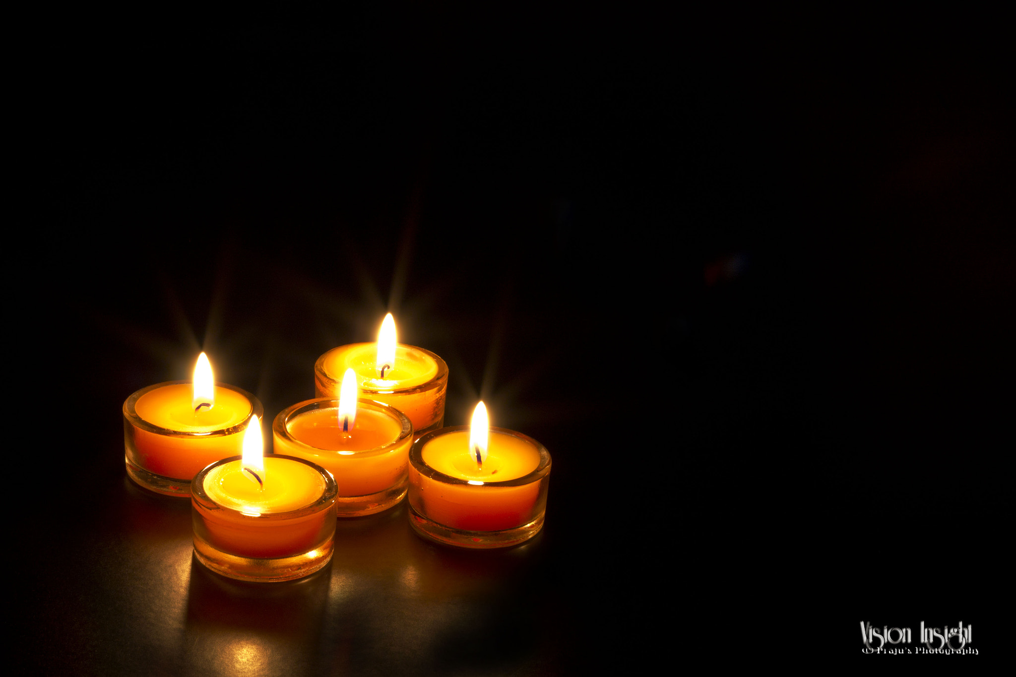 Photograph Candles by Prajesh Gopal on 500px
