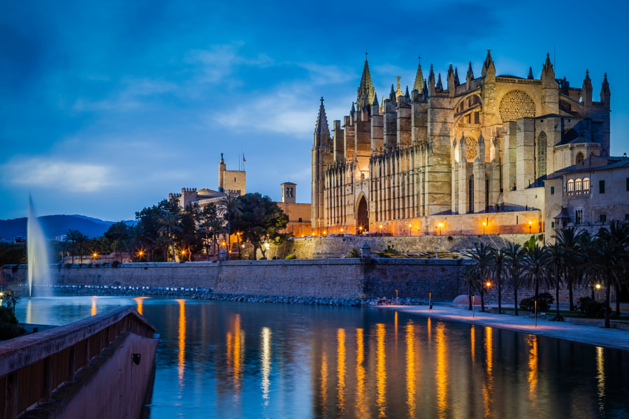 Photograph Cathedral of Palma de Mallorca by Hartmut Albert on 500px
