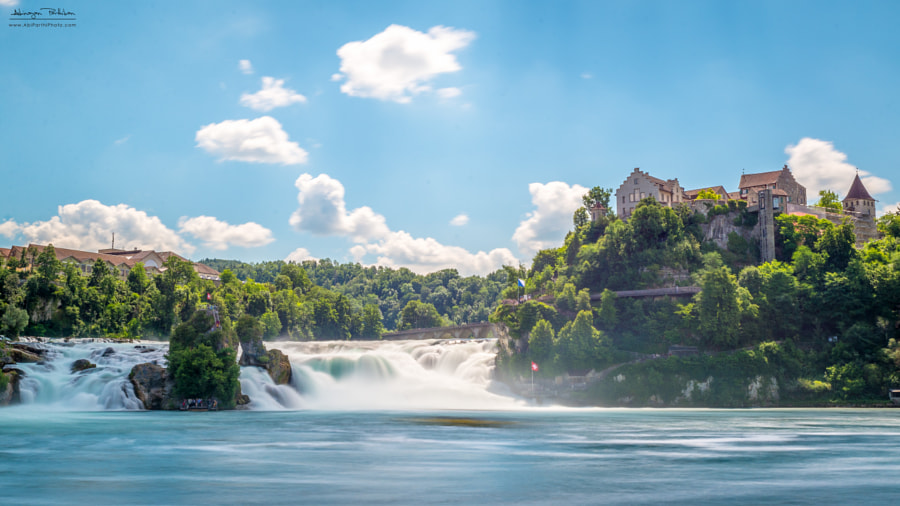 Photograph Rhine Falls by Abinayan Parthiban on 500px
