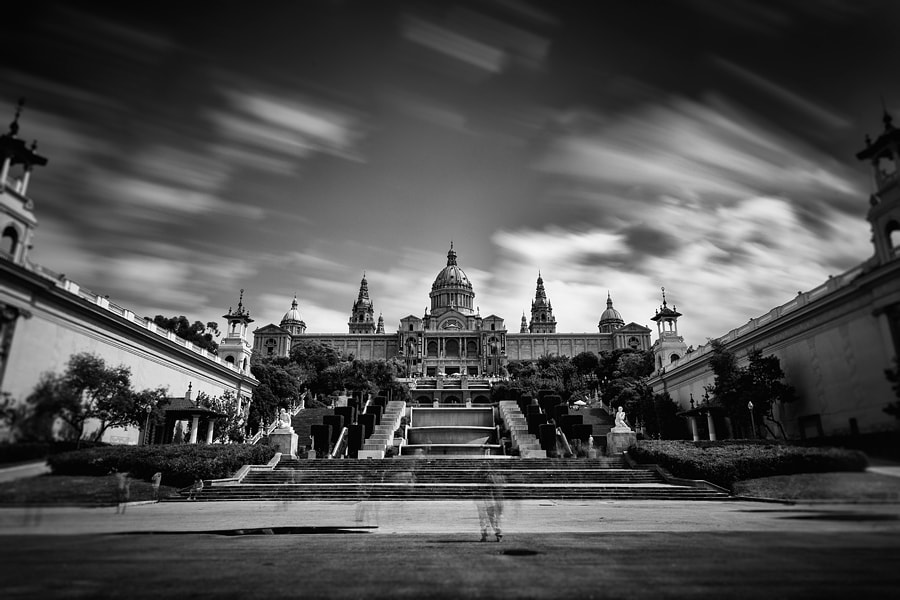 Photograph Palau Montjuic by Geoffrey Gilson on 500px