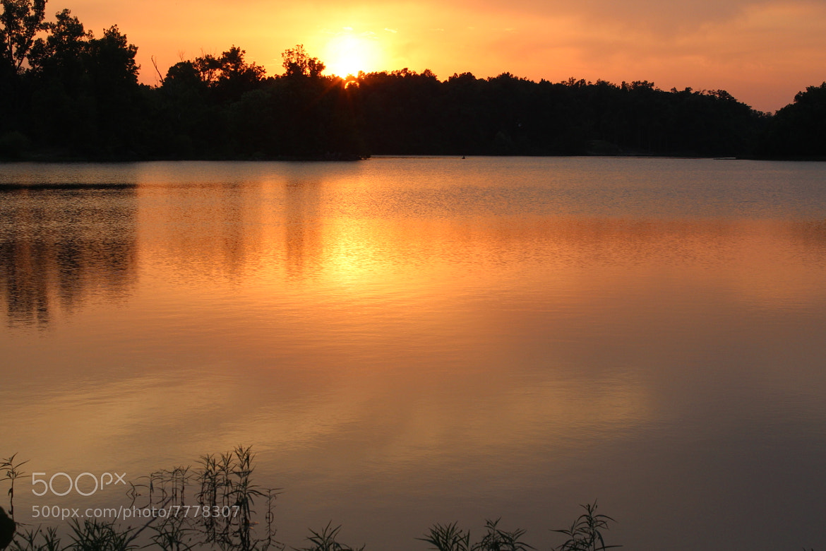 Photograph Baltz Lake Sunset 2 by Mike Fry on 500px