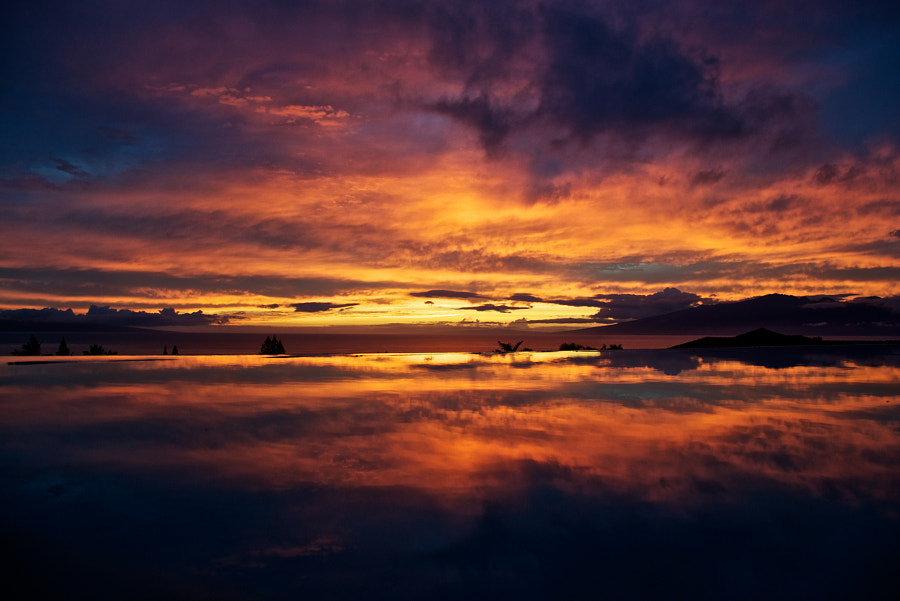Kaanapali Sunset Reflections by Yan Pujante on 500px.com