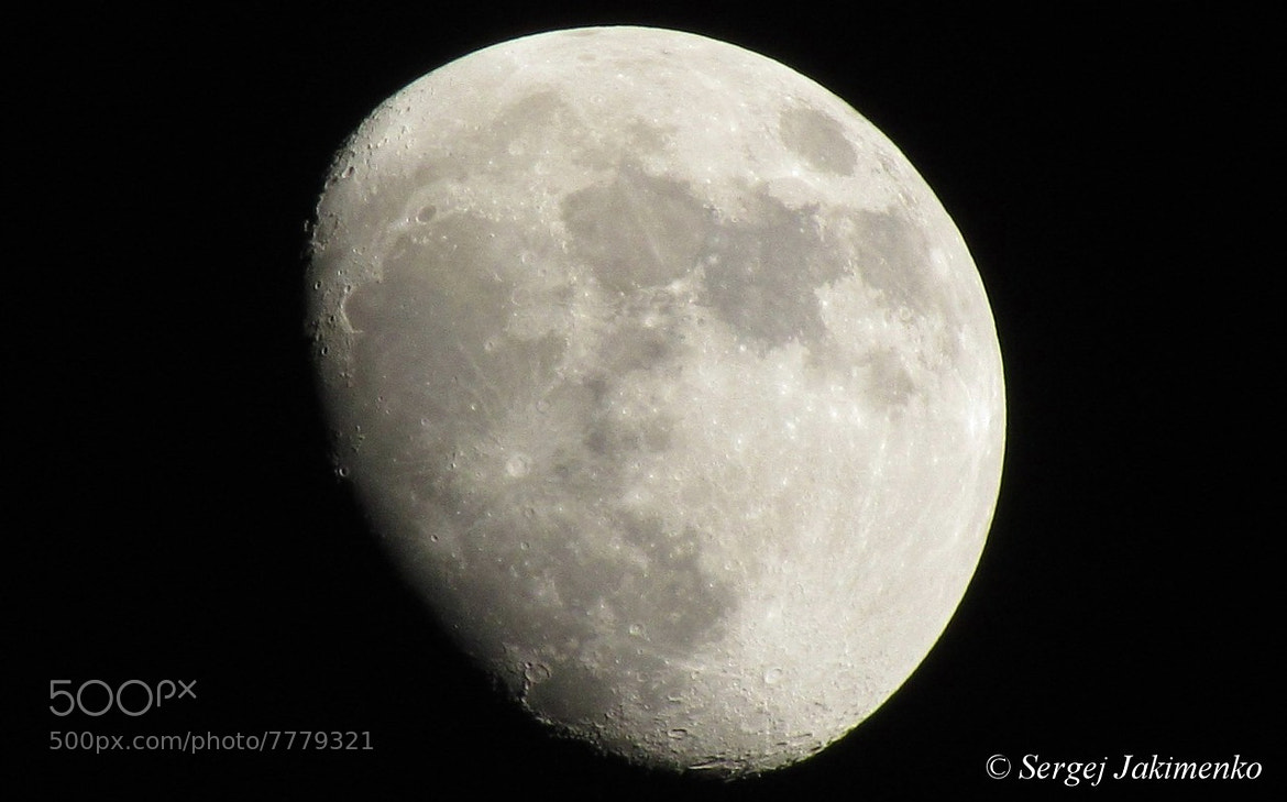 Photograph Moon by Sergej Jakimenko on 500px