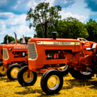 Постер, плакат: Antique Allis Chalmers Tractors