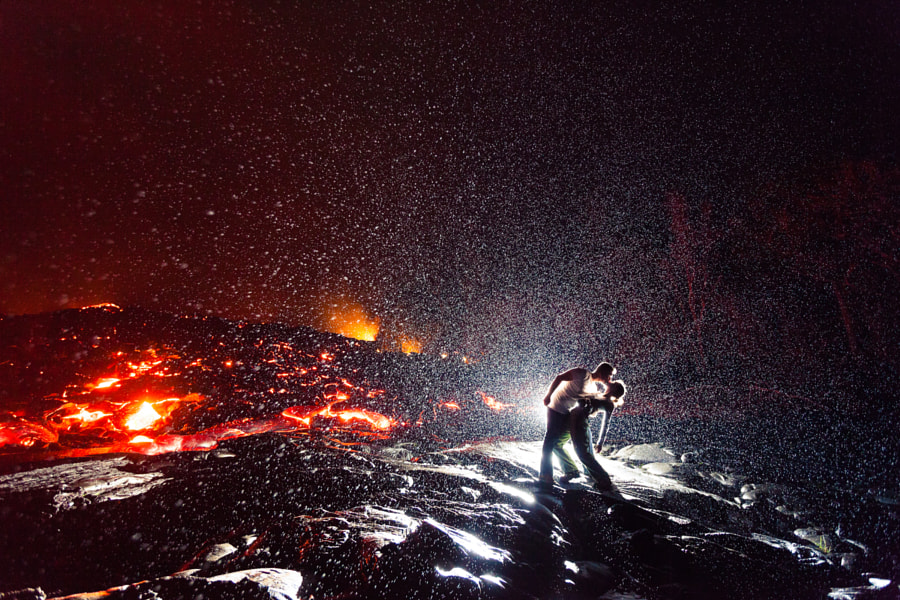 Photograph Lava Kiss by Dallas Nagata White on 500px