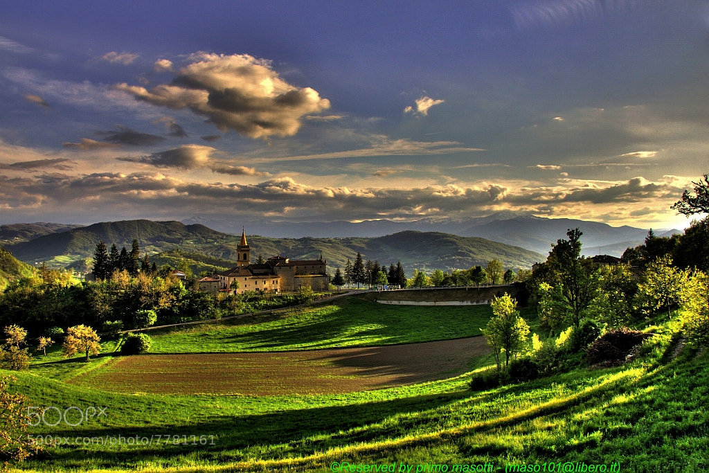 Photograph Tramonto_a_Rosola_-_(_zocca_modena_italy_)_0808__dvd_15 by primo masotti on 500px