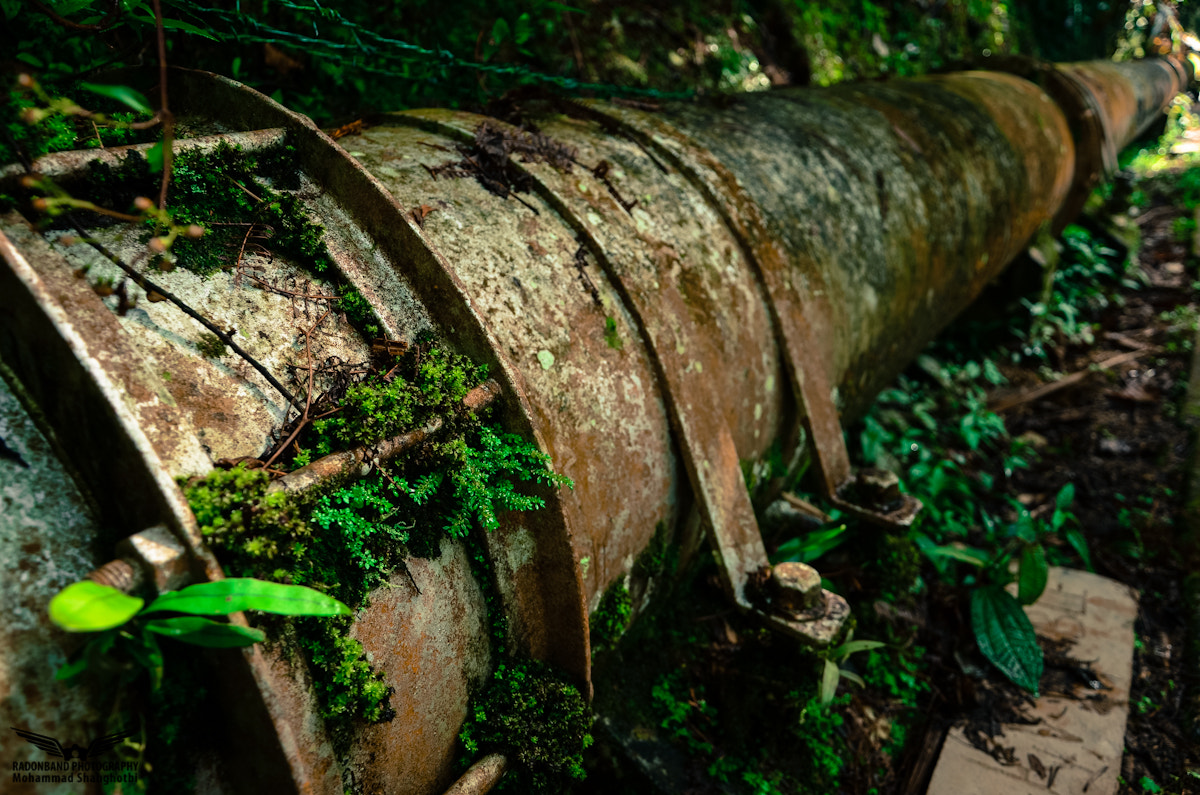 Photograph Old Water Pipeline by Sam Shah on 500px
