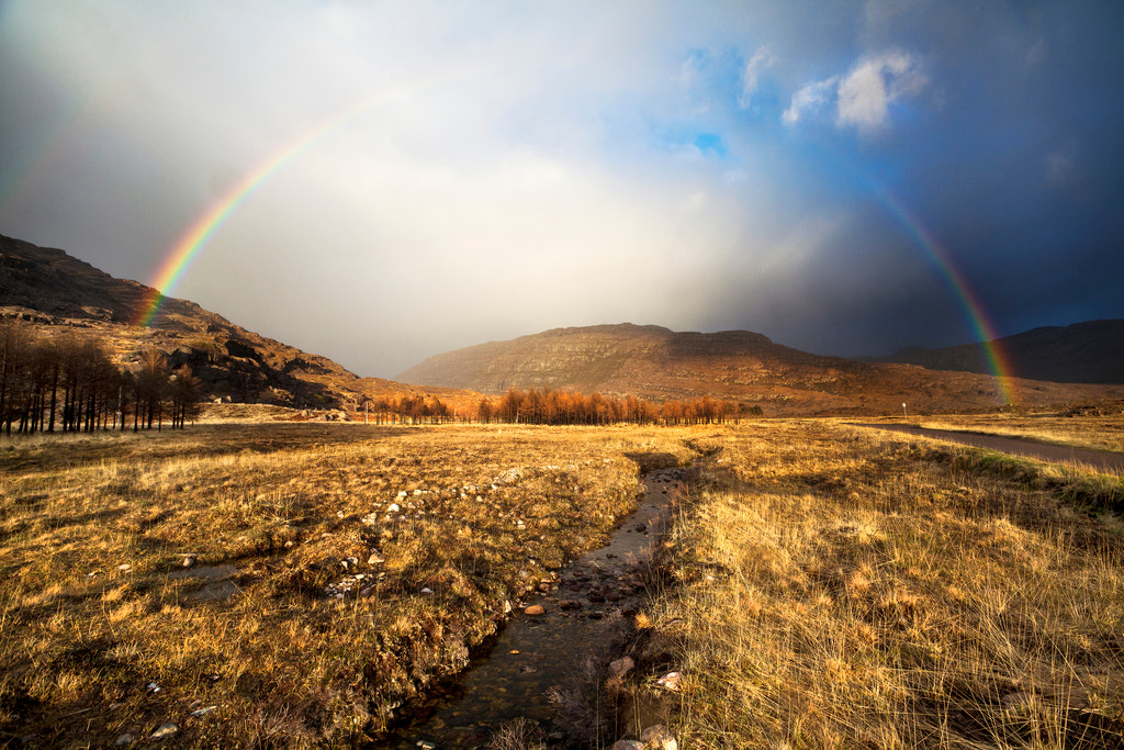 Photograph Torridon rainbow, Scotland by Simon Byrne on 500px