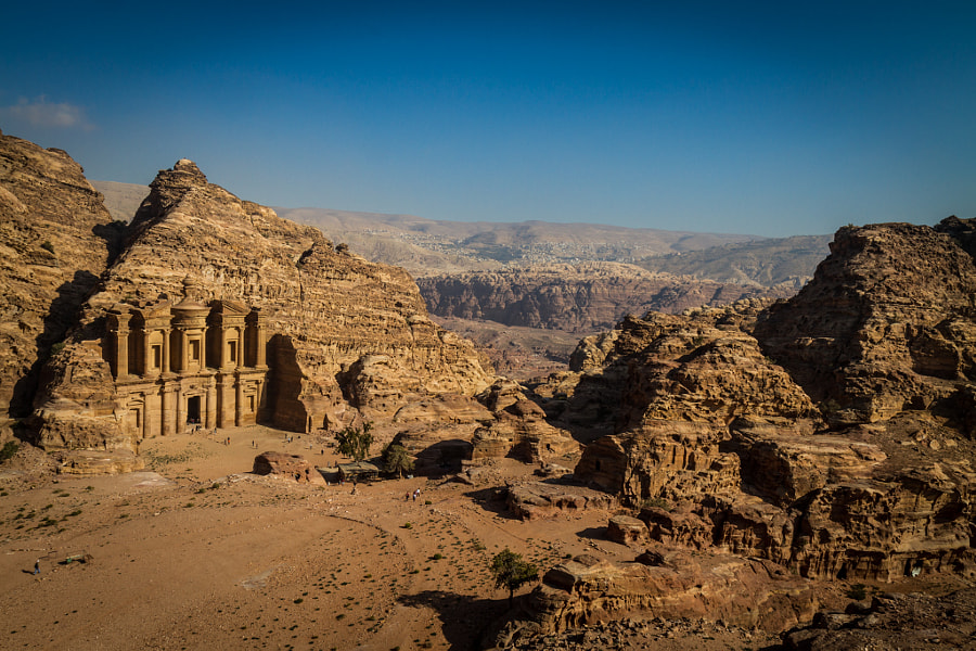 "Photograph ""The monastery"" view in Petra by José Hurtado Zaragozá on 500px"
