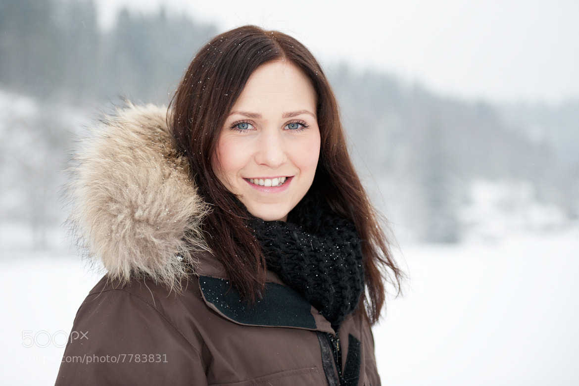 Photograph Winter portrait by Jonas Dandanell on 500px