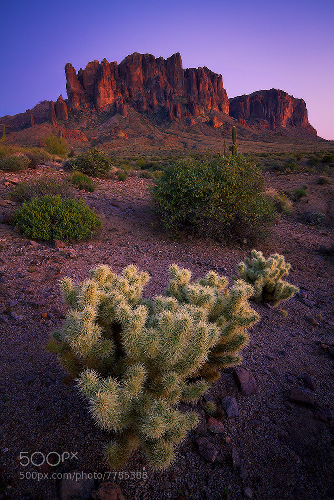Photograph Superstition Mountain Twilight by Erik Page on 500px