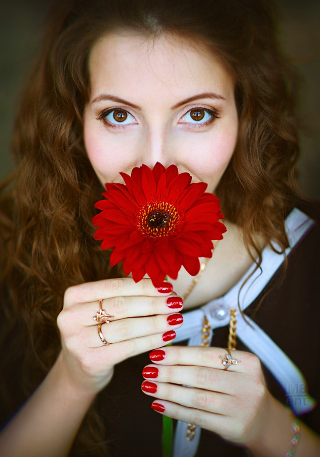 Photograph Flower smile by Victor Kolchin on 500px