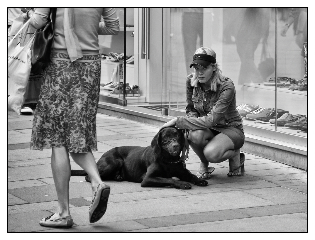 Photograph Girl & Dog by karl aster on 500px