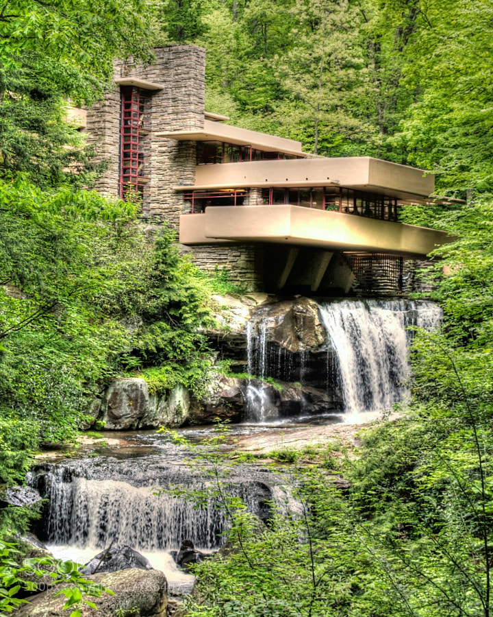 Photograph Fallingwater 5 by Kristoffer Smith on 500px