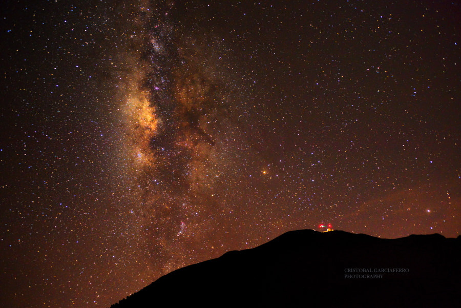 Milky way and Observatory