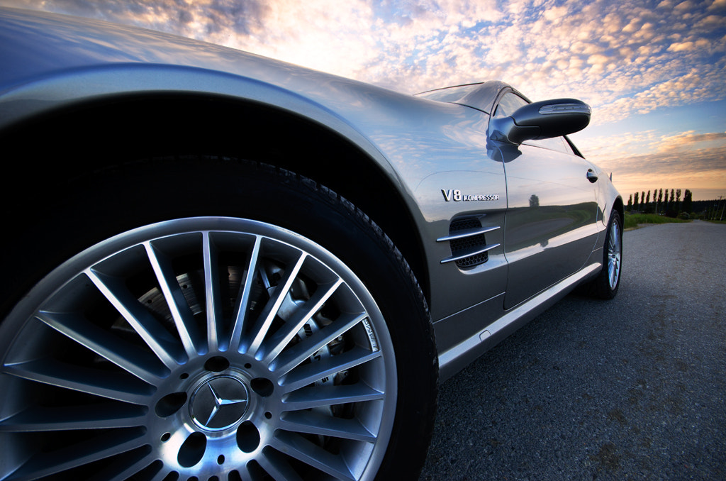 Photograph Mercedes SL55 AMG by Warm Bread on 500px