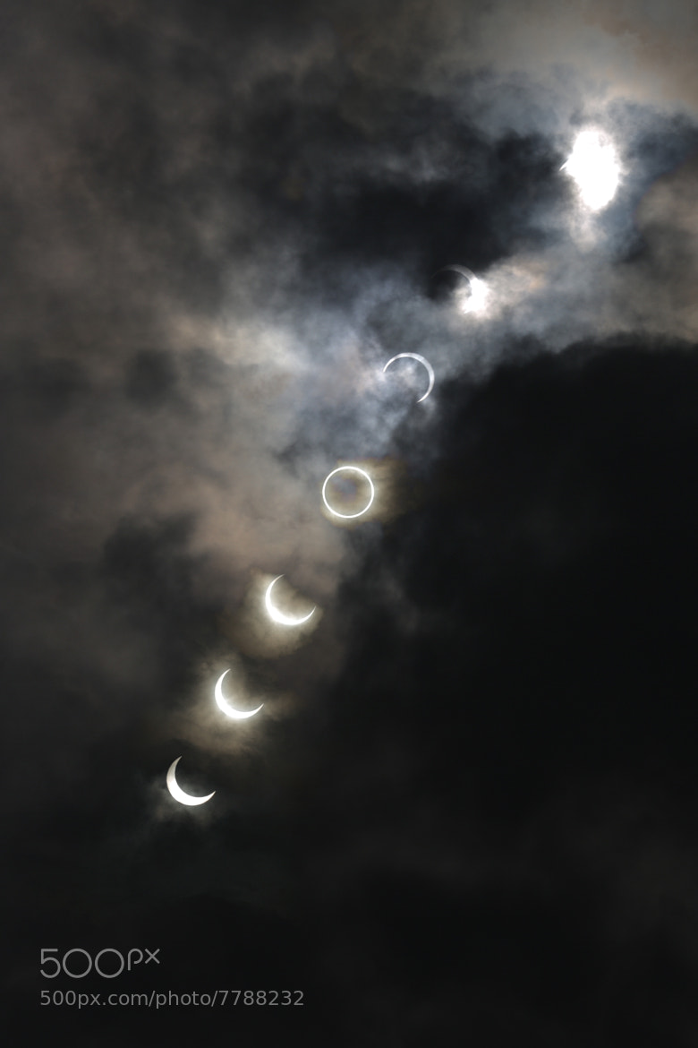 Photograph Annular solar eclipse at Tokyo by Yoshi Sekey on 500px