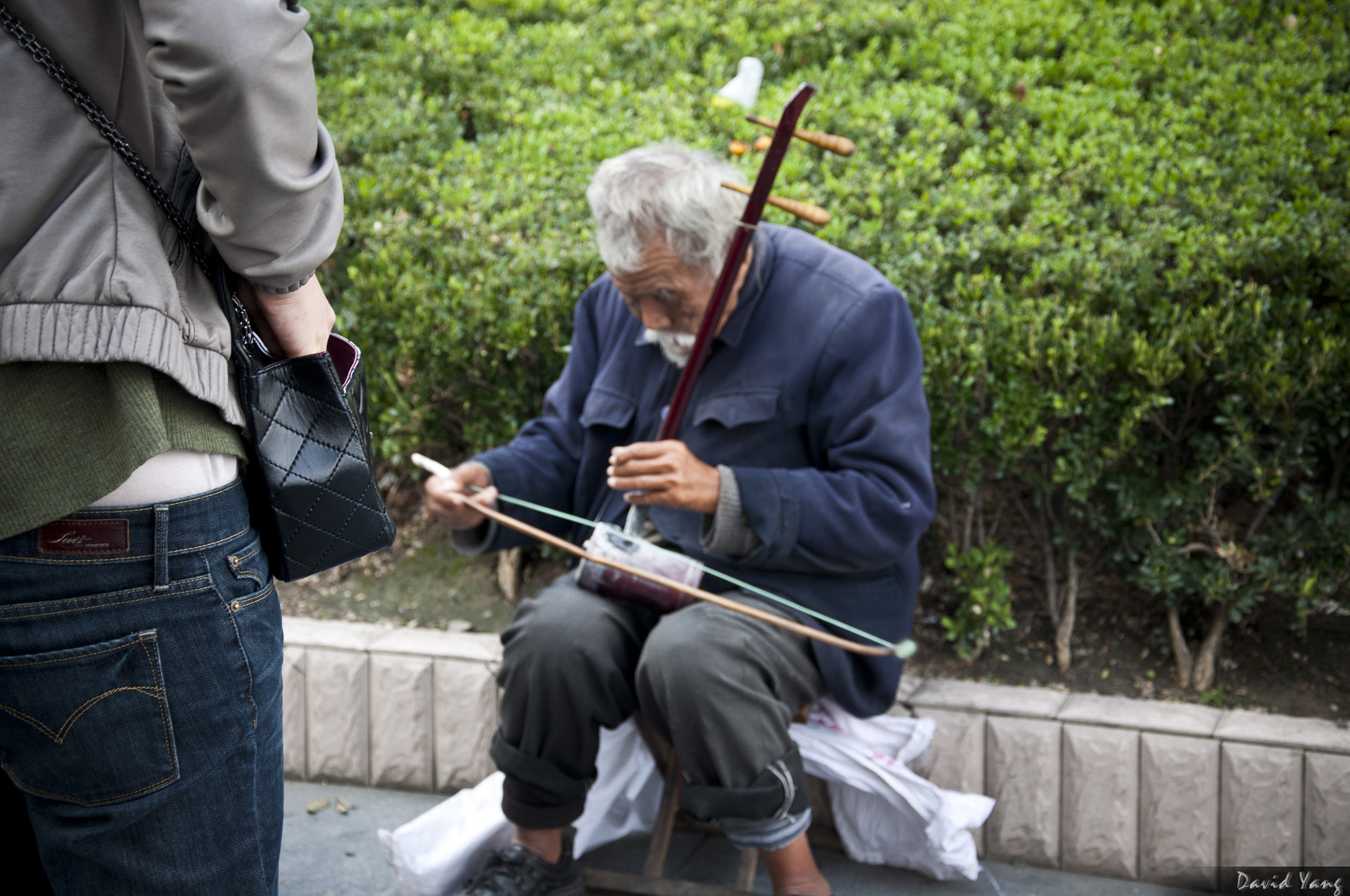 Photograph Blind Beggar in ShangHai by David Yang on 500px