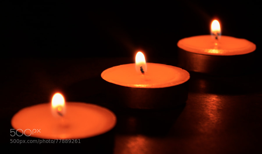 Photograph Candles by Ali Fardan