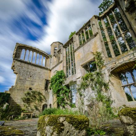Castle ruin.