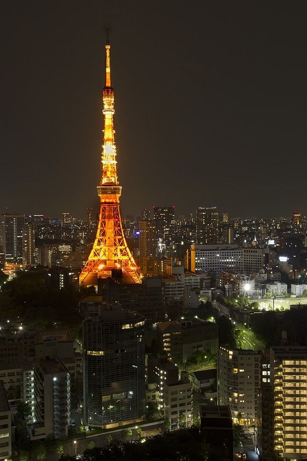 Photograph Tokyo tower at night. by Peter Edge on 500px