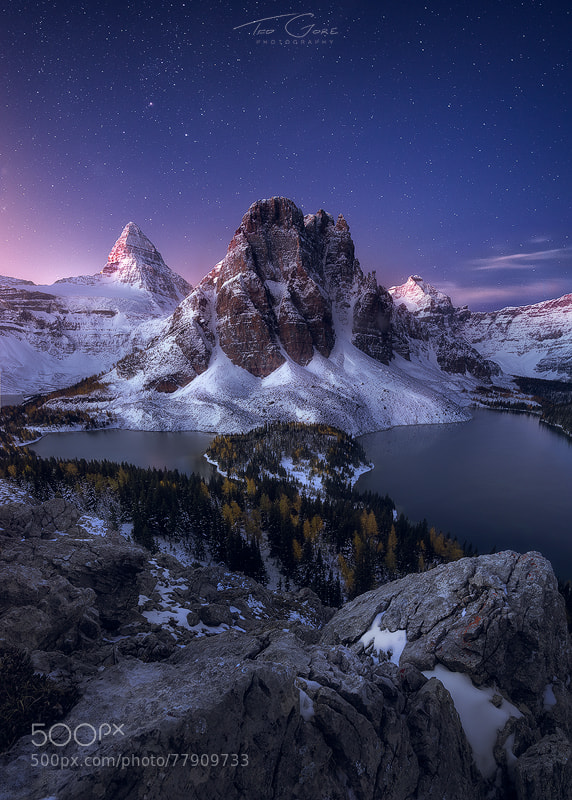 Photograph Morning Assiniboine by Ted Gore on 500px