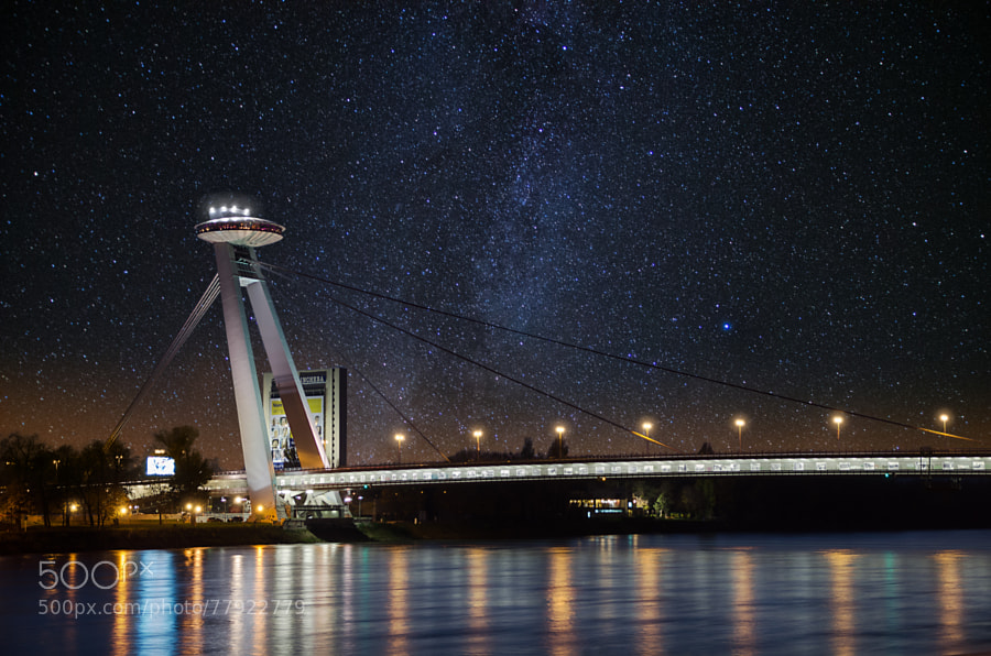 Photograph SNP bridge at Night by David Bugyi on 500px