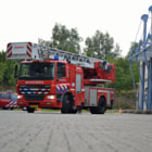 Постер, плакат: DAF Ladder truck