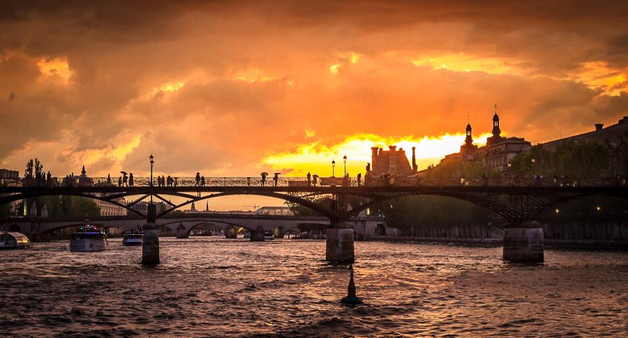Pont des arts regular shot version 2/3