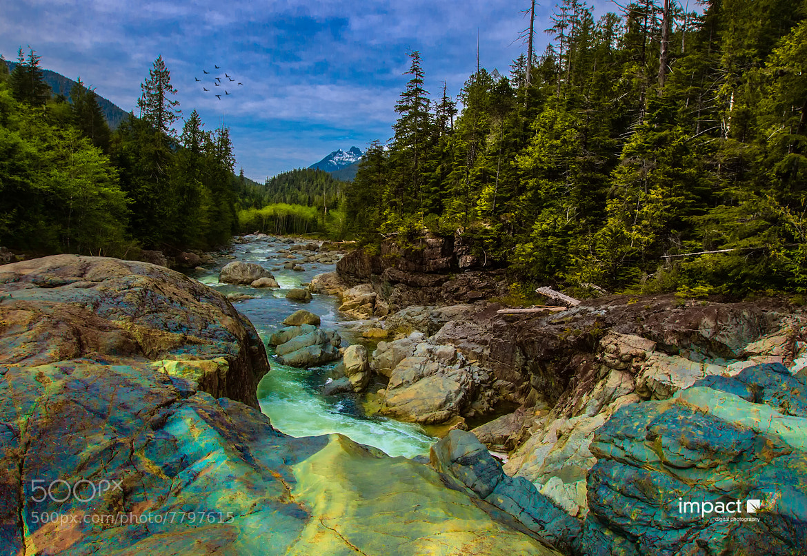 Photograph Colours in the Rock by Mike Thompson on 500px