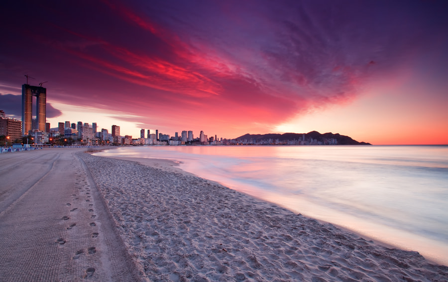 Photograph Sunrise @ Benidorm (Spain) by Eric Rousset on 500px